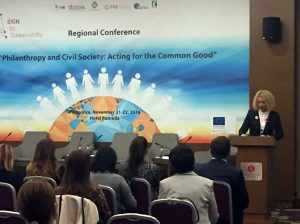 """Regional conference """"Philanthropy and Civil Society: Acting for the Common Good"""""""